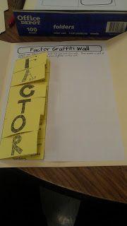 MissMathDork: middle school math made FUN!: The incredible Lapbook resource Very Cool Idea! Teaching 6th Grade, Sixth Grade Math, Teaching Math, Teaching Tools, Maths, Math Notebooks, Interactive Notebooks, Math Classroom, Classroom Ideas