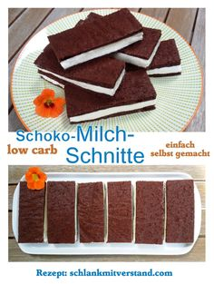 Schoko-Milch-Schnitte low carb 2