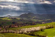 La #ValTidone in primavera #Piacenza #Valle Foto di Daniele Marioli