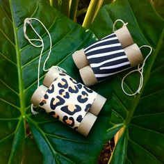 DIY Binoculars! Get your animal print happening here!