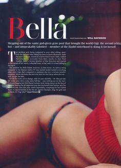 Bella Hadid || GQ Magazine UK || February 2016