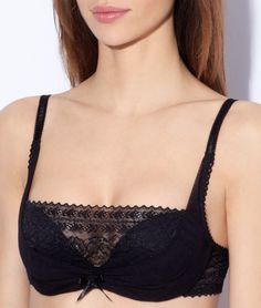 69bf3c4931 Push up drapé - GLAM® - NOIR - Etam Vêtements De Nuit