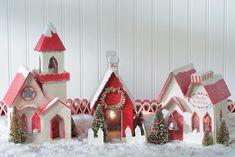 Camilla at Home: En liten julegate i kartong