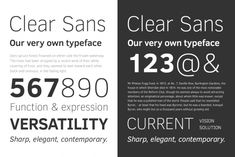 Clear Sans 1.0, by Intel's Open Source Technology Center