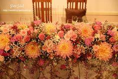 装花 メインテーブル