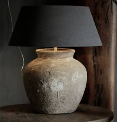 Lampen on pinterest hanging lamps lamps and rustic lamps - Oude huisdecoratie ...