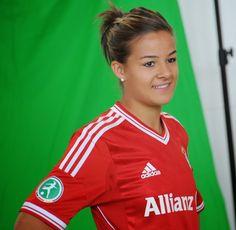 Lena Lotzen of FC Bayern Munich Frauen  DFB Frauen Nationalmannschaft.