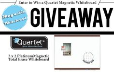 MonoMachines is giving away a Quartet Magnetic Whiteboard