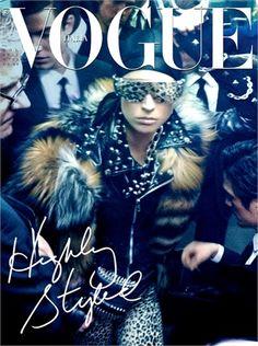 Vogue Italia - The A-Train by Steve Meisel, November 2011