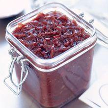 Red onion marmalade