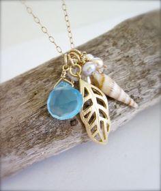 Beach bum + sand + surf + sun + pretty shell jewelry = SUMMER  *Made in Hawaii