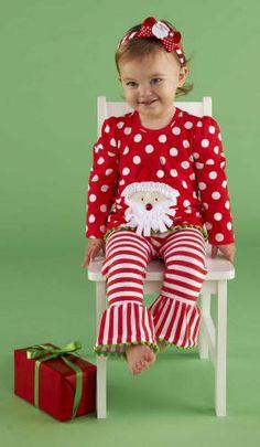 Mud Pie Baby-Girls Newborn Santa Skirt Set | Xmas outfits ...