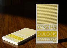 Business Card | Letterpress.