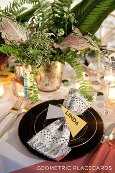 DIY Placecards by MichelleEdgemont.com