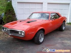 ... only old car that turns my crank, and yes of course it's got to be burnt orange and black... '67 Pontiac Firebird