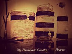 My Handmade Candles !! Because the inspiration never Stops . .