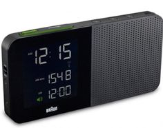 BRAUN BNC010 DIGITAL ALARM CLOCK