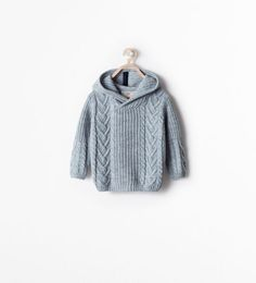 Image 1 of HOODED SWEATER from Zara