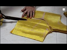 Three Plated Princess Cut Blouse Cutting, how to make prince cut blouse - YouTube