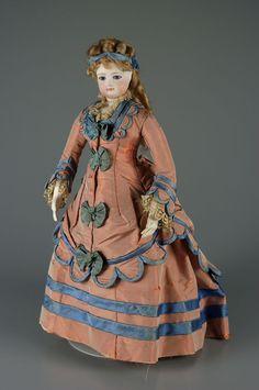 Antique Fashion Doll...Maker Unknown