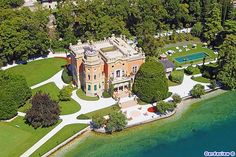 Villa Feltrinelli, Gargnano, Lake Garda, Italy