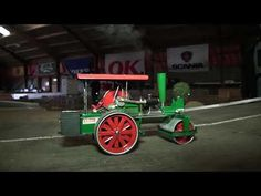 Rc Truck ( Meeting in Durup 21-10-2017 Steam Roller) - YouTube
