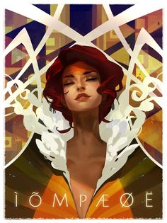 RED Concert Poster by JenZee on DeviantArt / trait / couleur / composition / portrait