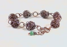 How-To Make Copper Wire Bead Bracelet (Customer Design) - Lima Beads
