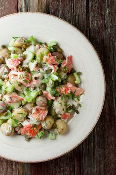 Lobster Potato Salad by framedcooks #Salad #Lobster #Potato