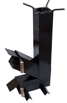 Furnace Heater, Stainless Steel Rod, Rocket Stoves, Metal Projects, Tools, Furniture, Ideas, Portable Wood Stove, Recycle Art