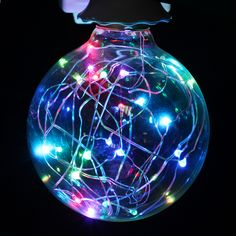 Nice Ac220v 5m 28led Holiday Furry Ball Snow Flakes Garlands Led String Light Ferias Led Luzes Cordas Events And Party Light Fancy Colours Lights & Lighting Led Lighting