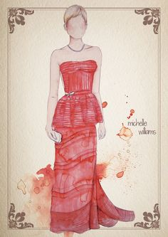 Camilla Gray -- Oscar Dresses