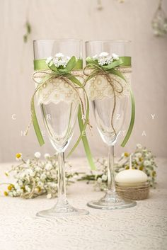 Personalizzare i bicchieri da Champagne con il fai da te… 17 esempi bellissimi!
