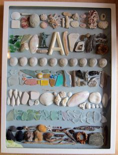 something to do with the beach finds.   Love this even on a walk with kids treasure finds soooo fun.