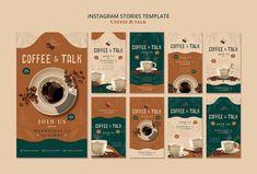 Graphic Design Lessons, Food Graphic Design, Food Poster Design, Graphic Design Tutorials, Social Media Poster, Social Media Design, Coffee Magazine, Feeds Instagram, Coffee Instagram
