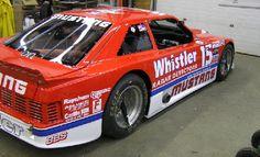 Vintage Road Race Decal and Race Car Graphics Roush Mustang, Fox Body Mustang, Mustang Cobra, Sports Car Racing, Road Racing, Race Cars, Mercury Capri, Speed Racer, Vintage Race Car