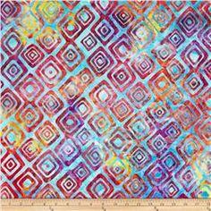 Artisan Batiks Graphic Elementals II Diamonds Rainbow