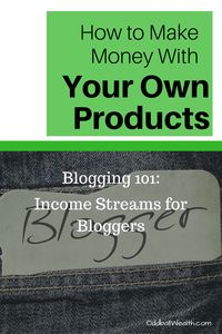 Blogging 101- Income Streams for Bloggers. Learn How to Make Money with Your Own Products. Article url: http://oddballwealth.com/how-to-make-money-with-your-blog/ If you've ever wondered how to make money blogging, this article is for you. This post explains how bloggers make money and create multiple revenue streams on their blogs.  #Blog #Blogging #Bloggers #MakeMoney #ExtraIncome #Finance #WebsiteDevelopment