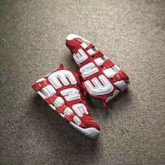 SUPREME X NIKE AIR MORE UPTEMPO varsity red white SUPTEMPO 902290-600 9ca2b013d