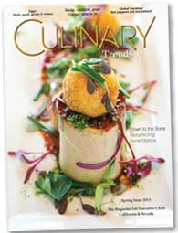 Welcome to Culinary Trends - The magazine for Executive Chefs