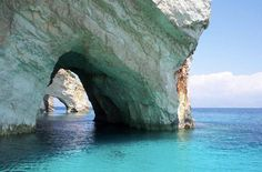 Blue Caves Zakynthos Island, Greece