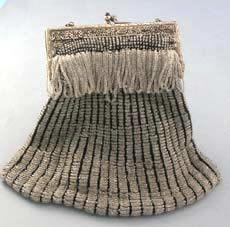 antique flapper purse
