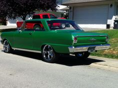 "1962 Chevy ll W/ 400 smblk ""NOVAsized"""