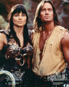 Hercules (Kevin Sorbo) & Xena (Lucy Lawless) - Who else watched religiously? #Mythology #Retold #JustRead www.ChristinaDelay.com www.Readerlicious.com