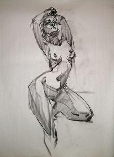 Gesture Drawing by Ben Lo Gesture Drawing, Body Drawing, Anatomy Drawing, Drawing Poses, Life Drawing, Body Sketches, Drawing Sketches, Art Drawings, Figure Drawings