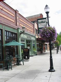 Bozeman, Montana. This beautiful restaurant was totally destroyed in the explosion in 2009. Downtown is still lovely, but this building is gone