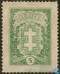 1927 Lithuania - Doubble-barred cross