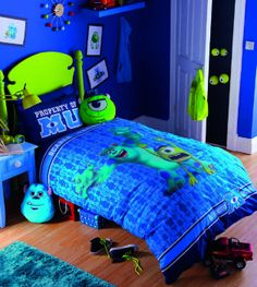 Children's Monster University single bedding set, with glow in the ...