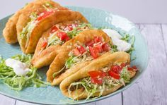 Taco Bell Chalupa copycat http://deep-fried.food.com/recipe/taco-bell-chalupa-copycat-81138