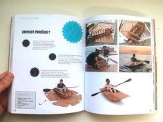 Cómo montar un kayak de cartón. Reinventer ses emballages. Upcycling, diy. Creado por Cartonlab. How to mount a cardboard kayak. Reinventer ses emballages. Upcycling, diy. Created by Cartonlab.